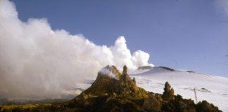 Etna, hornitos inverno