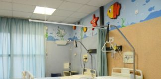 ospedale a colori, letti Corri Catania