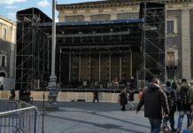palco capodanno Catania