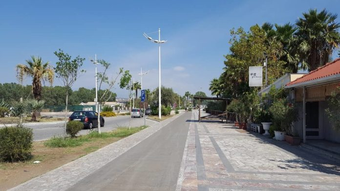 viale Kennedy, playa. Catania