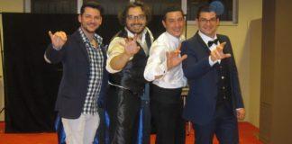 Claudio Randazzo, Dimitri Tos,i Davide Collura, Armando Calabrese. Club magico catanese
