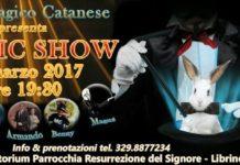 locandina magic show club magico catanese