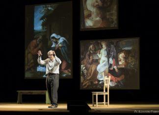 Sgarbi Caravaggio. Foto Alessandro Fabbrini