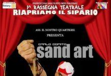 Comito Sand Art al San Filippo Neri di Palermo