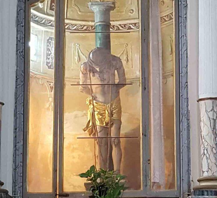 Sortino, S. Sofia, Cristo alla colonna