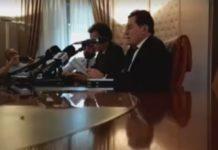 Crocetta conferenza stampa