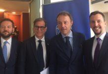 Fabrizio Ferrari, Pierpaolo Celeste, Antonello Biriaco, Niccolò Fontana