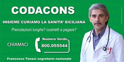 Tanasi Codacon Sanità