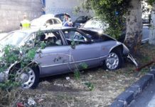 incidente 13 giugno viale ulisse