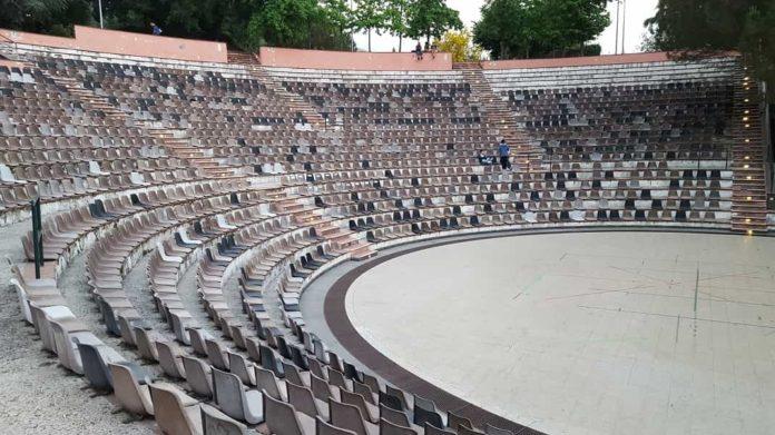 Zafferana Etnea, anfiteatro Falcone Borsellino