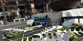 Fra poco mangeremo lische: provocazione di Greenpeace