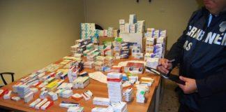 farmaci sequestrati Adrano 28-12-16