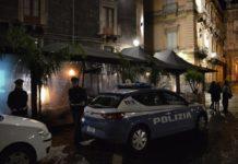 polizia movida Catania