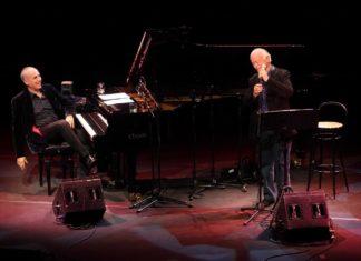 Gino Paoli e Danilo Rea. Foto Musacchio&Ianniello