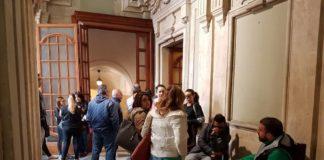 Protesta Istituti Assistenziali Catania
