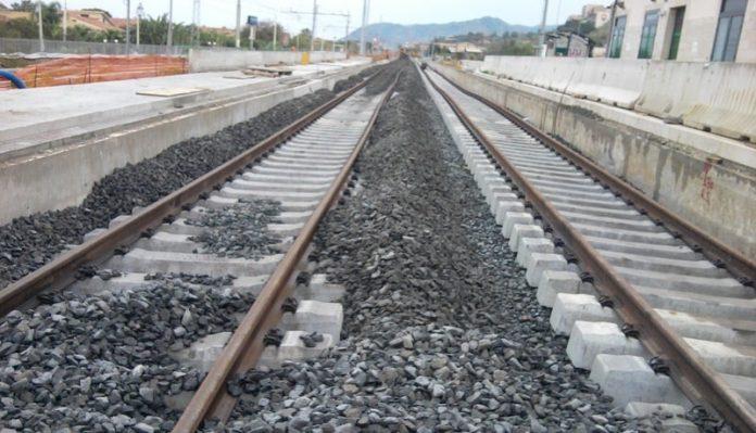 cantiere-raddoppio-ferroviario-binari-treno-treni-ferrovia- raccordo -messina-palermo - laccoto -italia viva - ars- sicilia